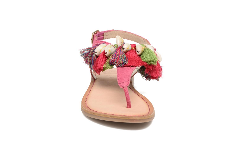 Sandales et nu-pieds Gioseppo Indigena Rose vue portées chaussures