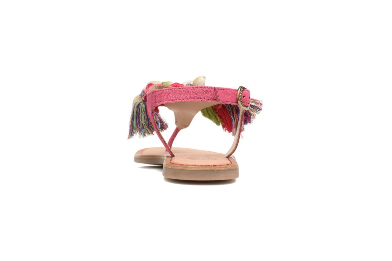 Sandales et nu-pieds Gioseppo Indigena Rose vue droite