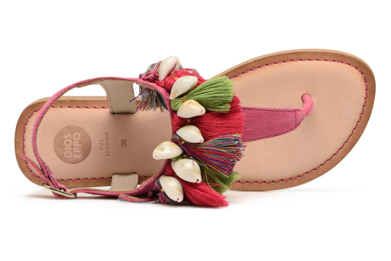 Sandales et nu-pieds Gioseppo Indigena Rose vue gauche