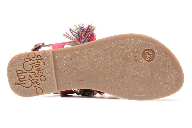Sandales et nu-pieds Gioseppo Indigena Rose vue haut