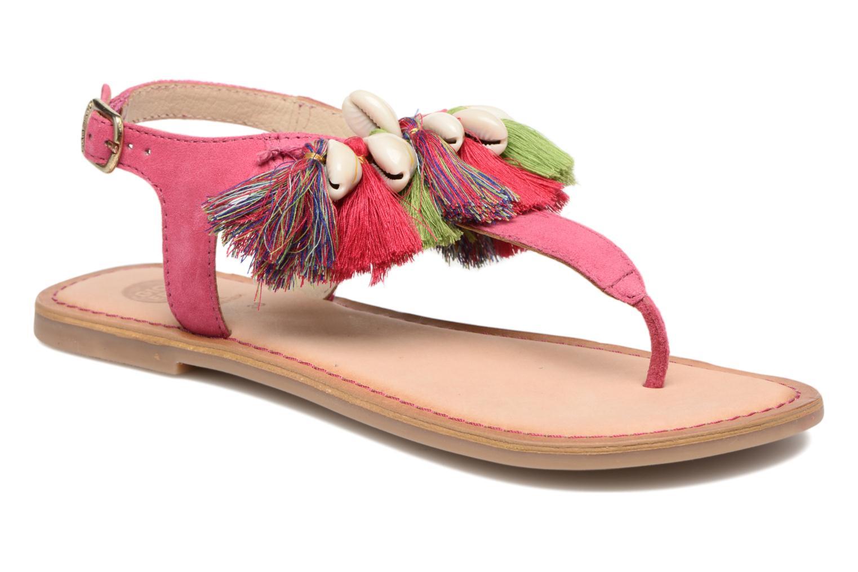 Sandales et nu-pieds Gioseppo Indigena Rose vue détail/paire