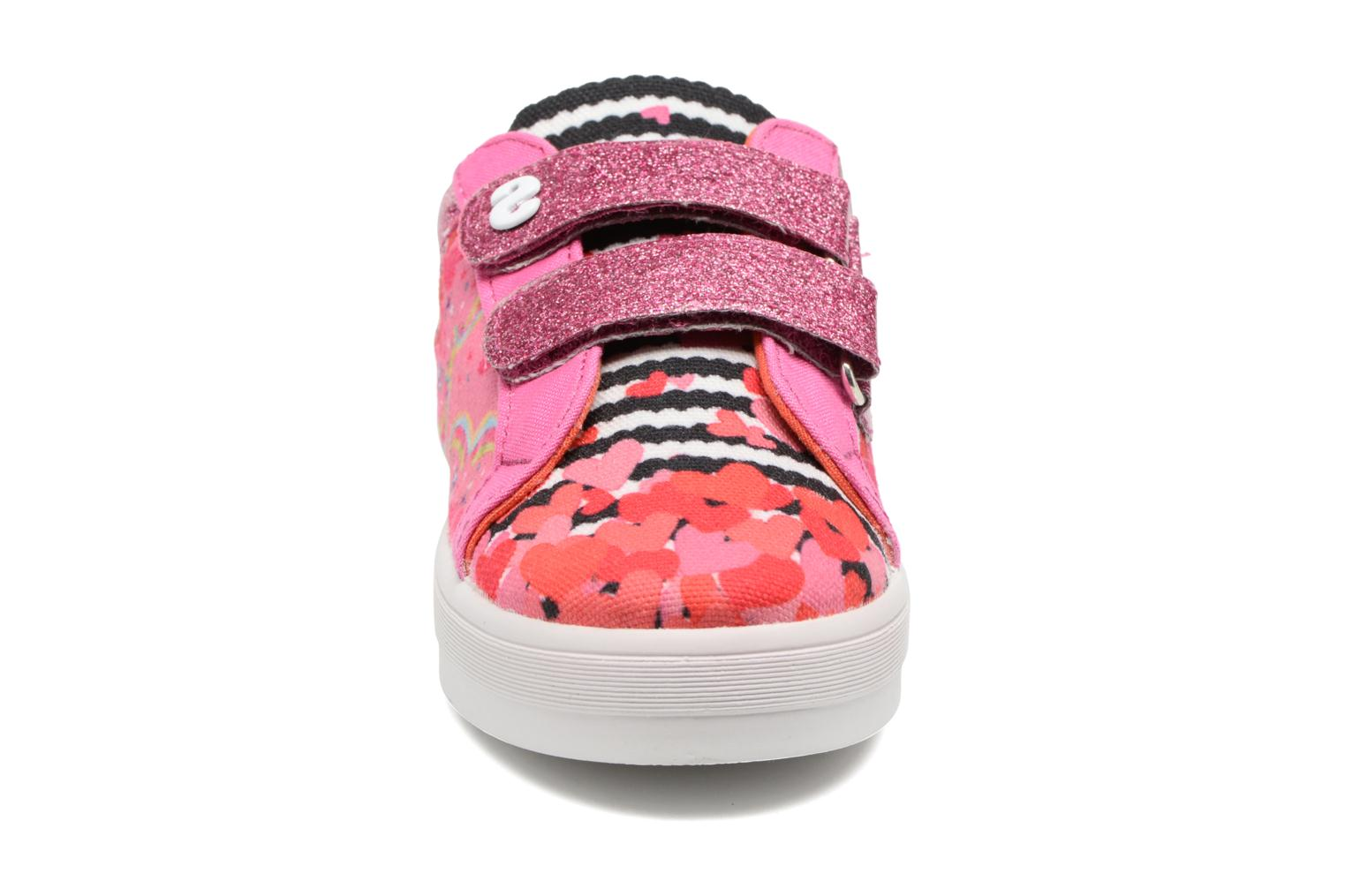 Sneakers Desigual Silver Mini 2 Roze model