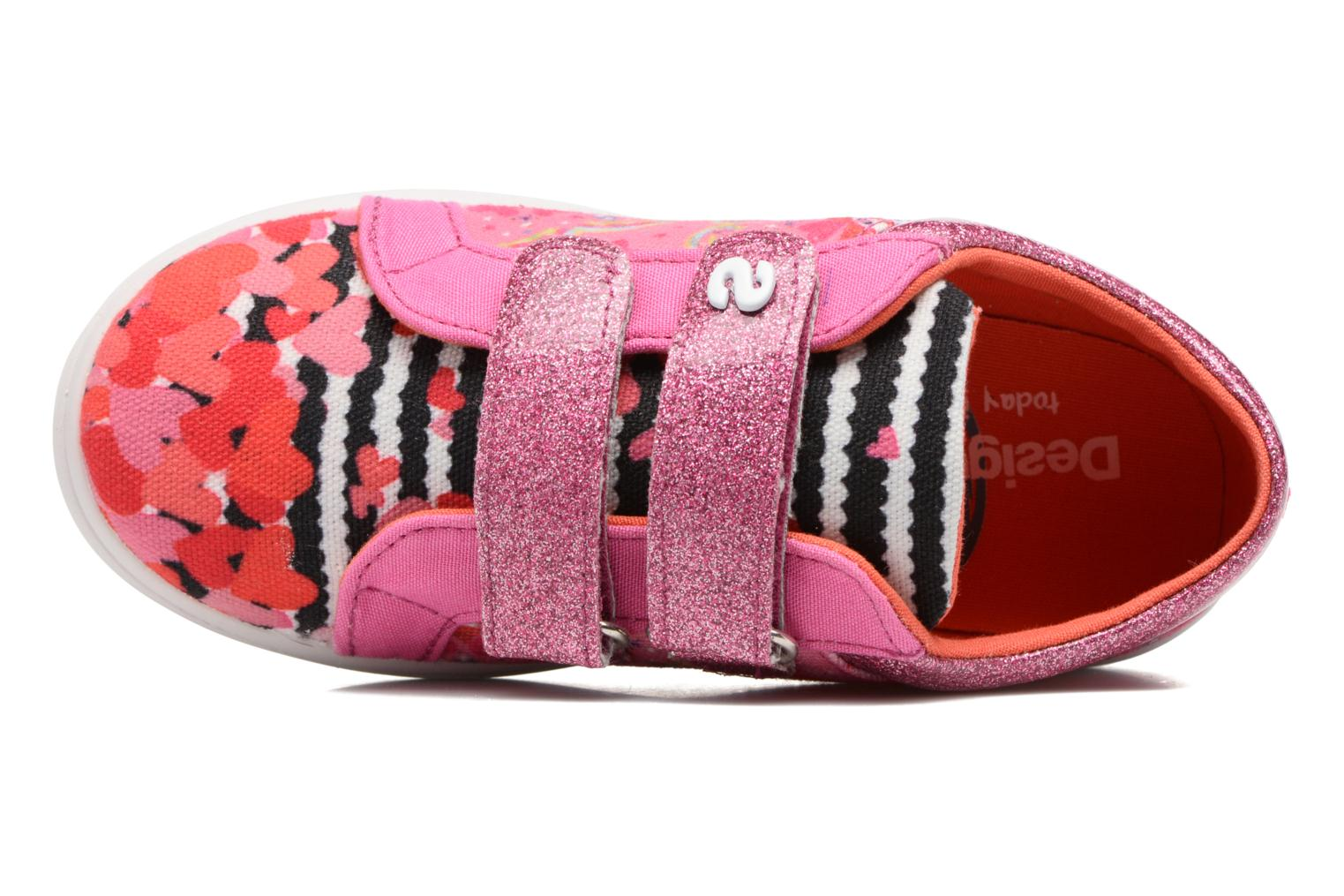 Sneakers Desigual Silver Mini 2 Roze links