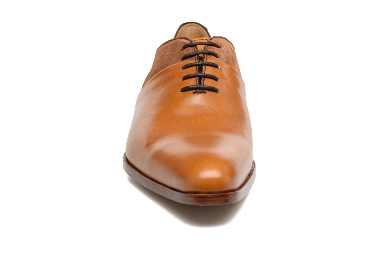Chaussures à lacets Heyraud ELRED Marron vue portées chaussures