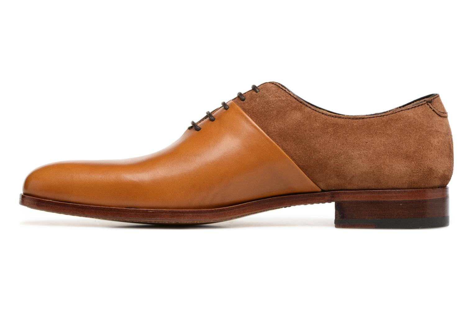 Chaussures à lacets Heyraud ELRED Marron vue face