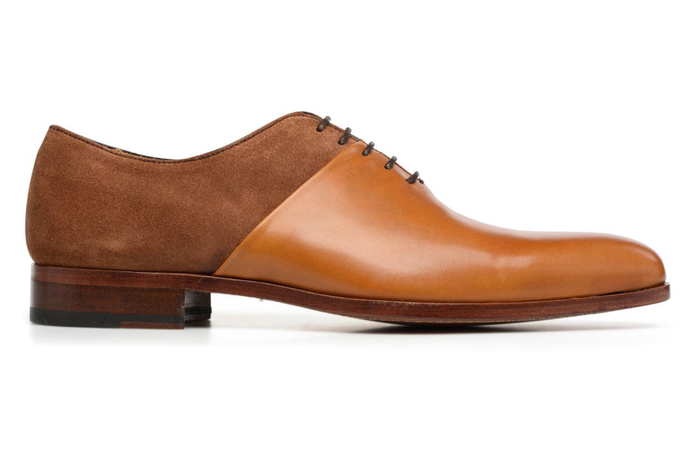 Chaussures à lacets Heyraud ELRED Marron vue derrière