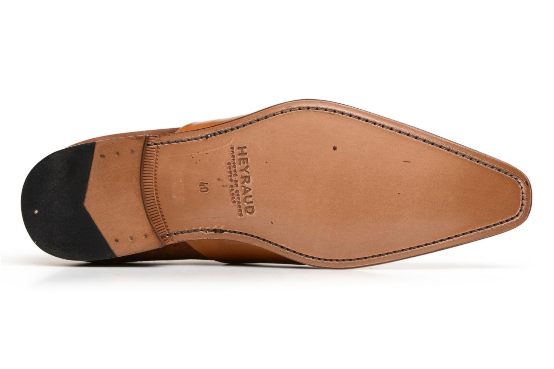 Chaussures à lacets Heyraud ELRED Marron vue haut