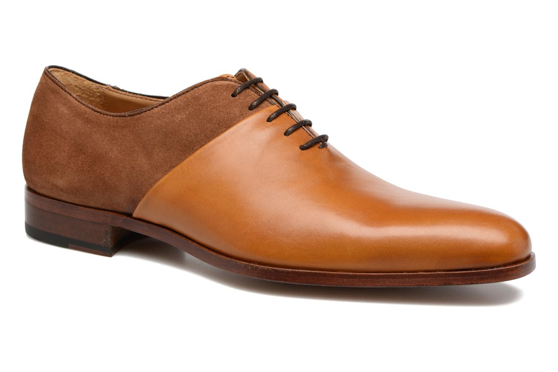 Chaussures à lacets Heyraud ELRED Marron vue détail/paire