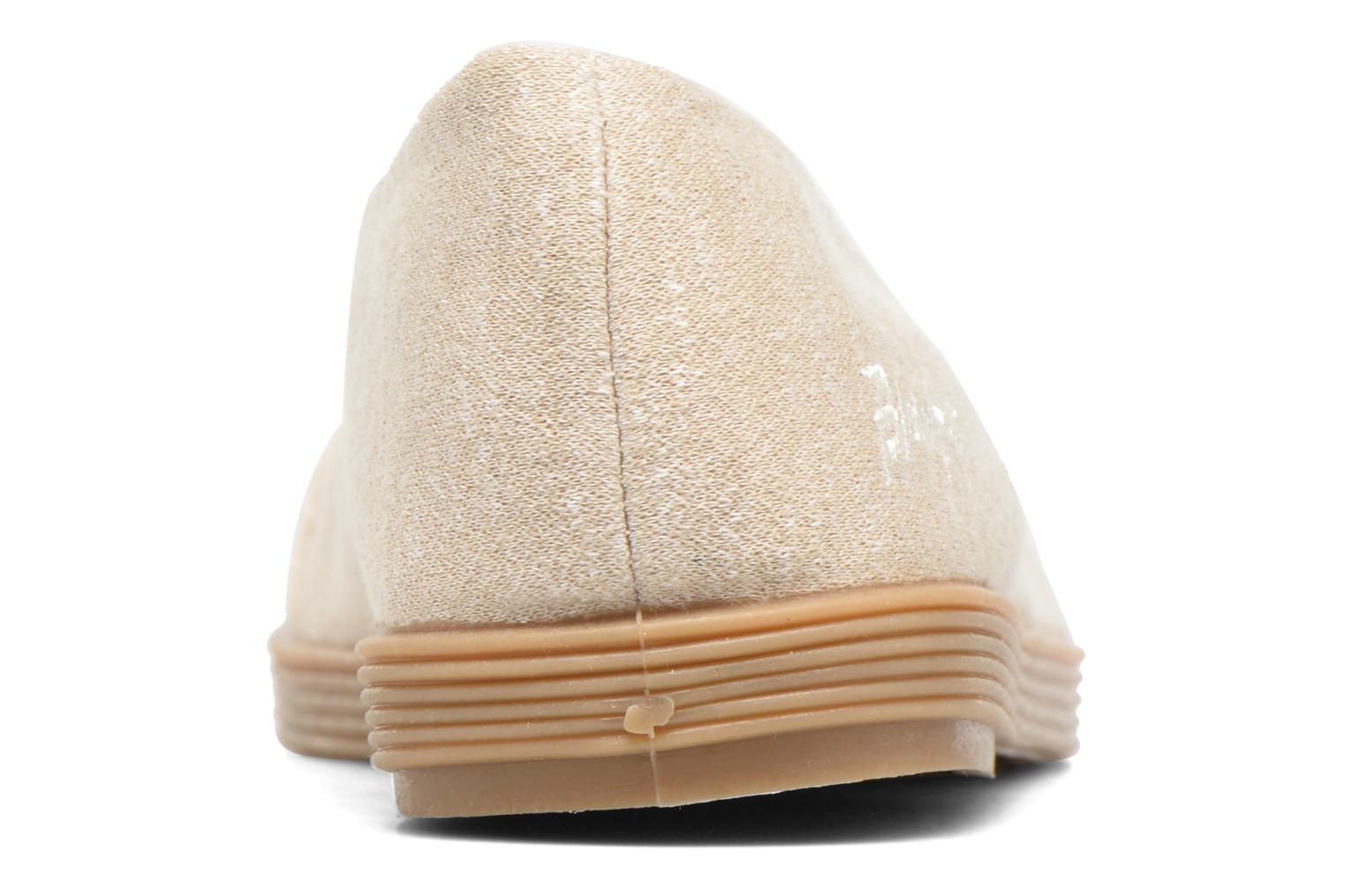Ballet pumps Blowfish Glo2 Beige view from the right
