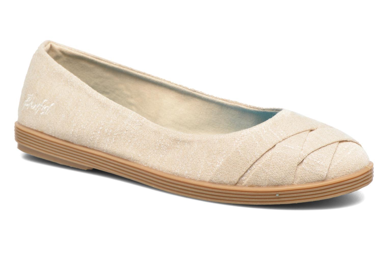 Ballerinaer Blowfish Glo2 Beige detaljeret billede af skoene