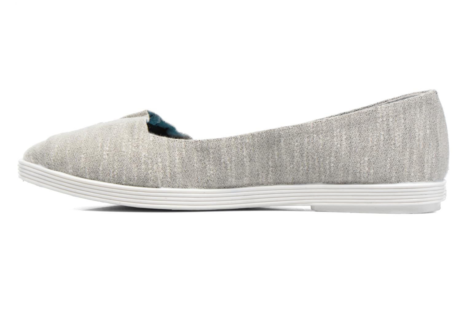 Ballerines Blowfish Garden Gris vue face