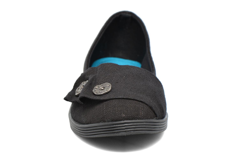 Ballerines Blowfish Garden Noir vue portées chaussures