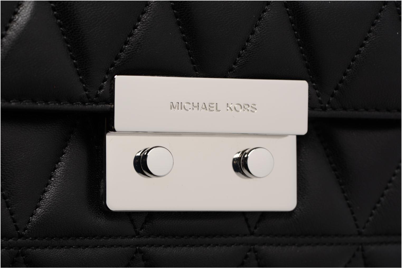 Bolsos de mano Michael Michael Kors SLOAN LG CHAIN SHOULDER Negro vista lateral izquierda
