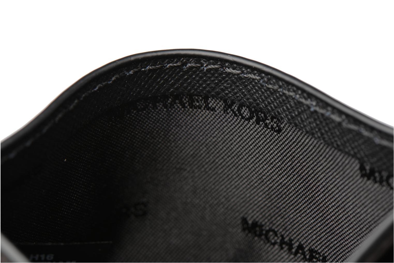 Marroquinería pequeña Michael Michael Kors Money Pieces CARDHOLDER Negro vistra trasera