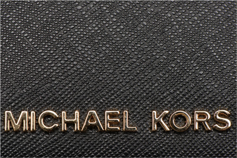 Marroquinería pequeña Michael Michael Kors Money Pieces CARDHOLDER Negro vista lateral izquierda