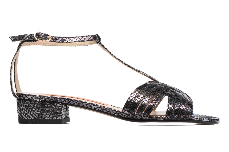Sandales et nu-pieds Anna Volodia Olga Noir vue derrière