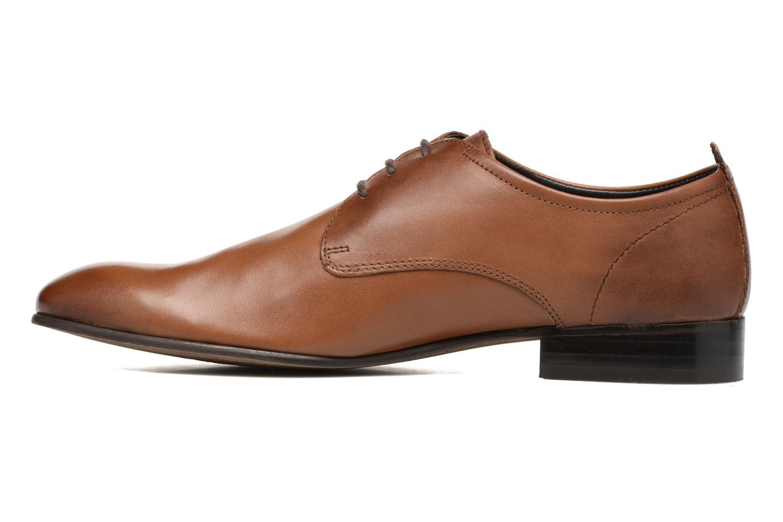 Chaussures à lacets Base London Business Marron vue face