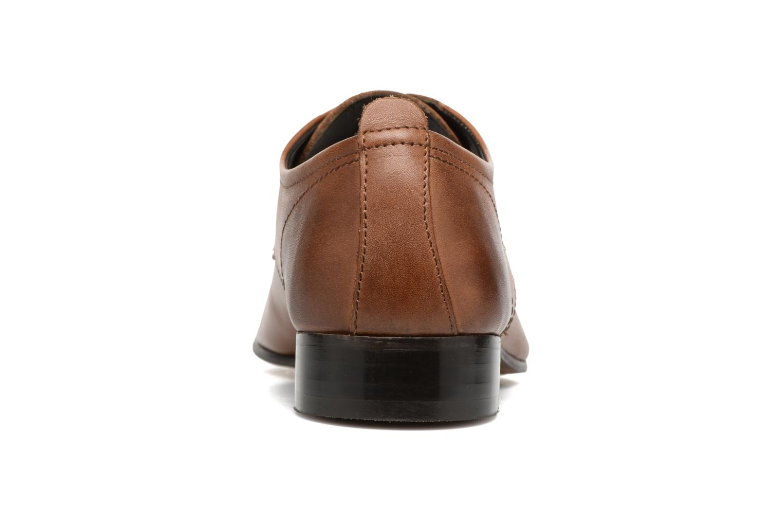 Chaussures à lacets Base London Business Marron vue droite