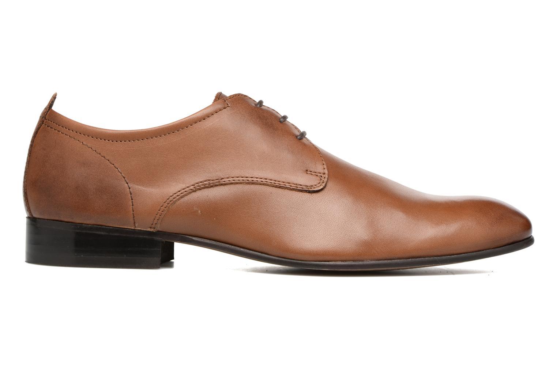 Chaussures à lacets Base London Business Marron vue derrière