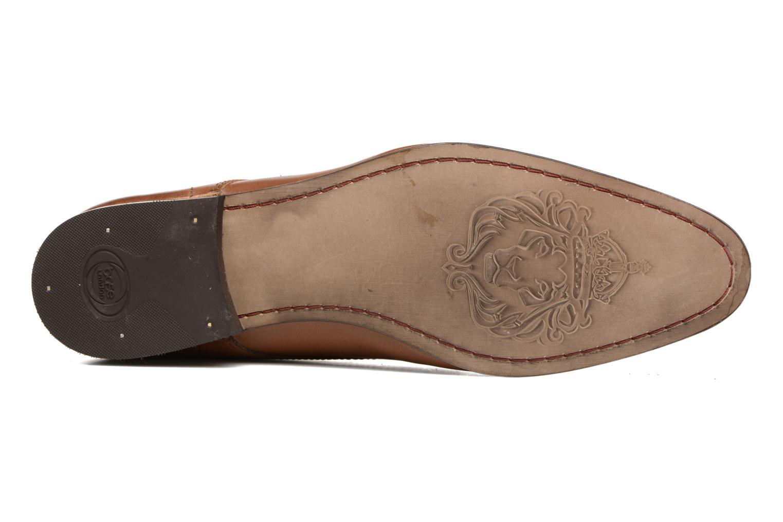 Chaussures à lacets Base London Business Marron vue haut
