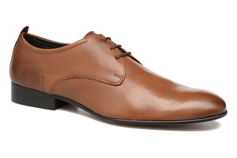 Chaussures à lacets Base London Business Marron vue détail/paire