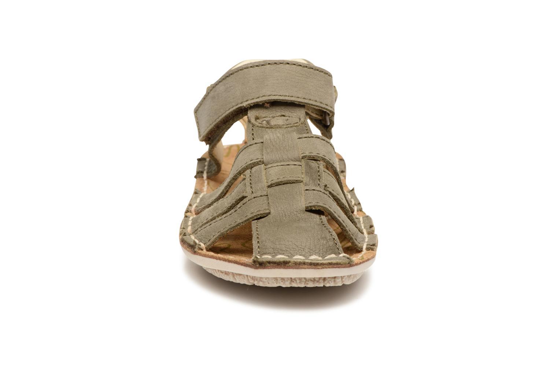 Sandales et nu-pieds El Naturalista Kiri E278 2 Gris vue portées chaussures