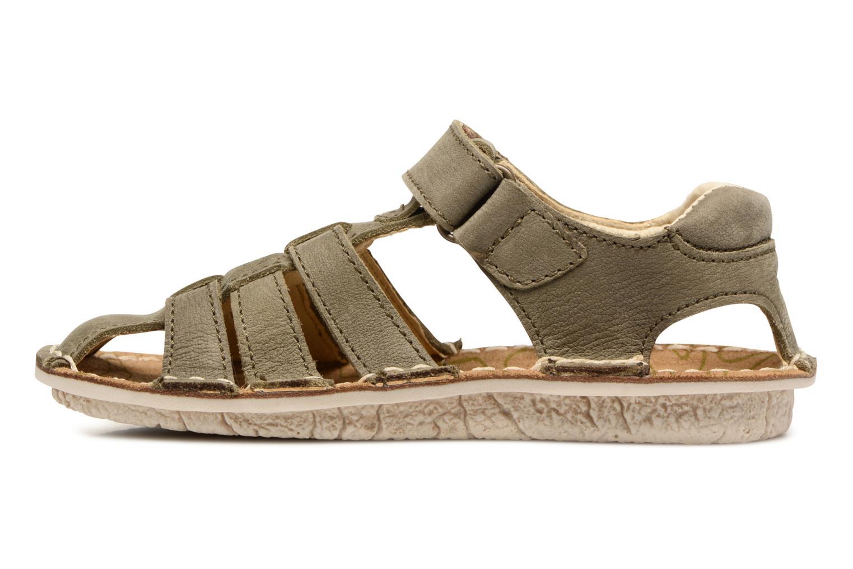 Sandales et nu-pieds El Naturalista Kiri E278 2 Gris vue face
