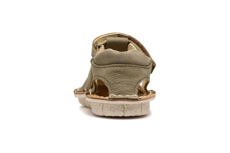 Sandales et nu-pieds El Naturalista Kiri E278 2 Gris vue droite