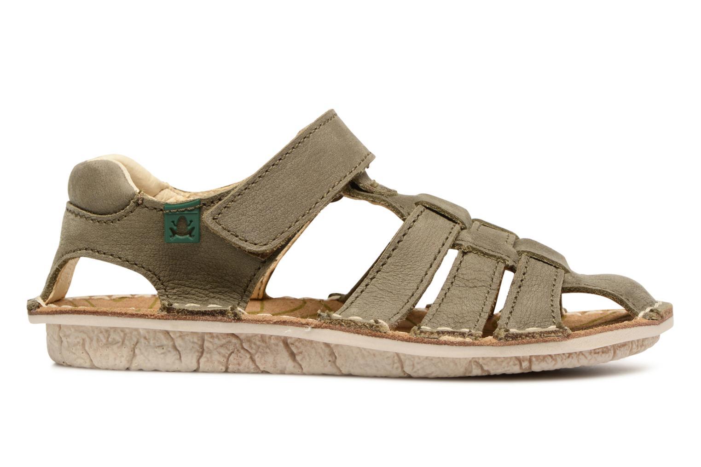 Sandales et nu-pieds El Naturalista Kiri E278 2 Gris vue derrière