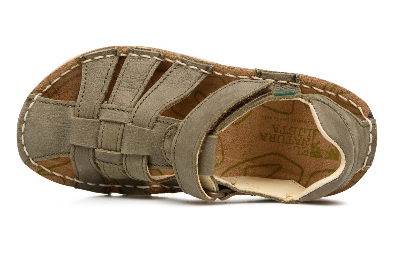 Sandales et nu-pieds El Naturalista Kiri E278 2 Gris vue gauche
