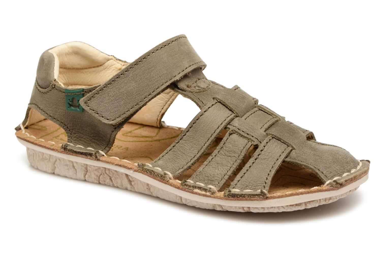 Sandales et nu-pieds El Naturalista Kiri E278 2 Gris vue détail/paire