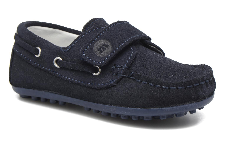 Chaussures à scratch Melania Danielo Bleu vue détail/paire
