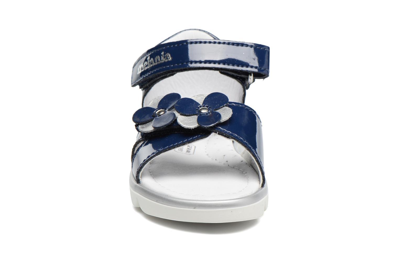 Sandales et nu-pieds Melania Clemente Bleu vue portées chaussures
