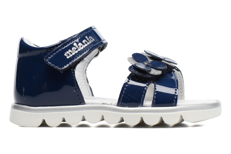 Sandales et nu-pieds Melania Clemente Bleu vue derrière