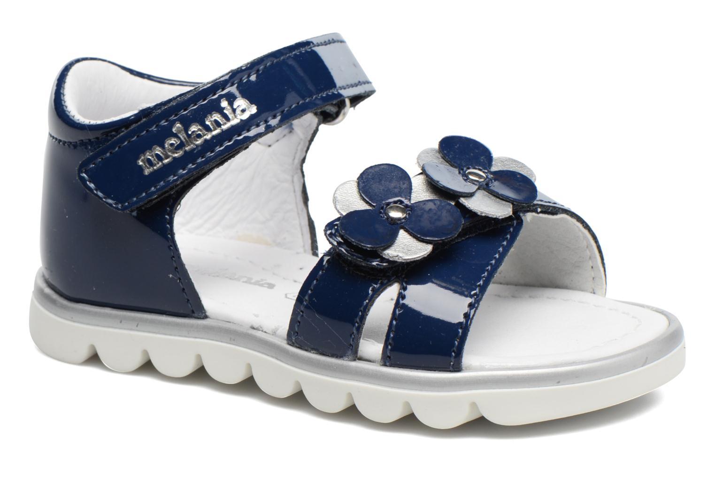 Sandales et nu-pieds Melania Clemente Bleu vue détail/paire