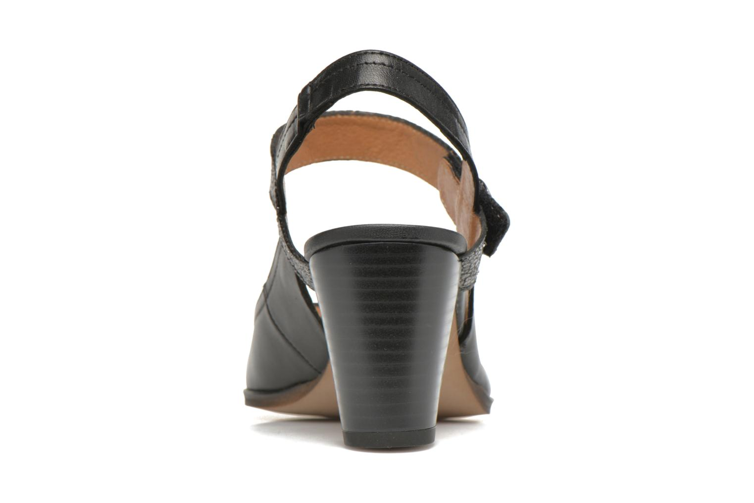 High heels Karston Kzoupi Black view from the right