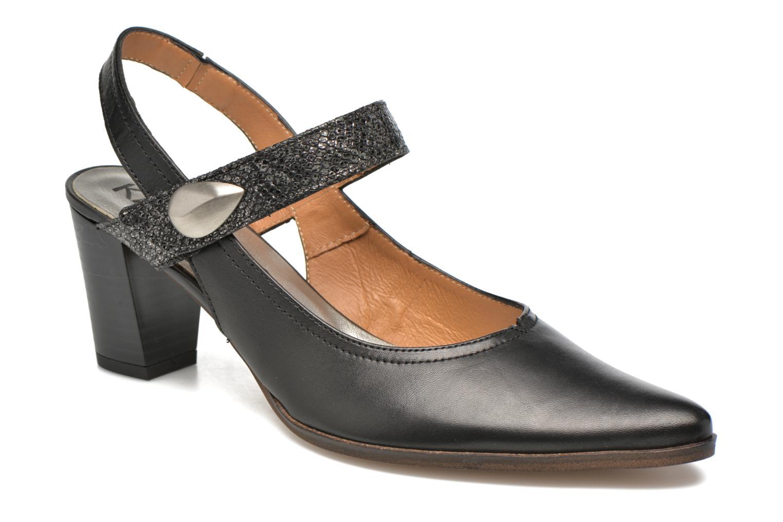 High heels Karston Kzoupi Black detailed view/ Pair view