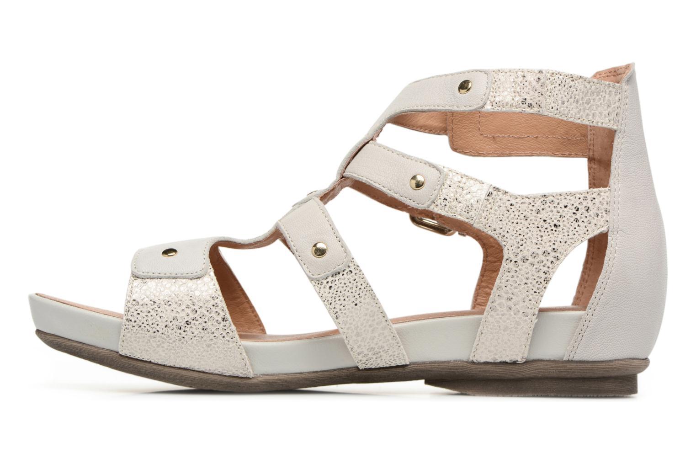 Sandales et nu-pieds Karston Konic Blanc vue face