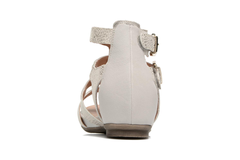 Sandales et nu-pieds Karston Konic Blanc vue droite