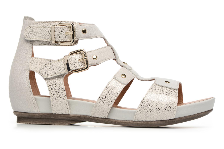 Sandales et nu-pieds Karston Konic Blanc vue derrière