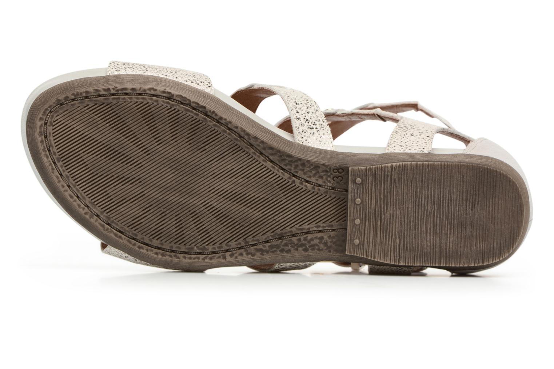 Sandales et nu-pieds Karston Konic Blanc vue haut
