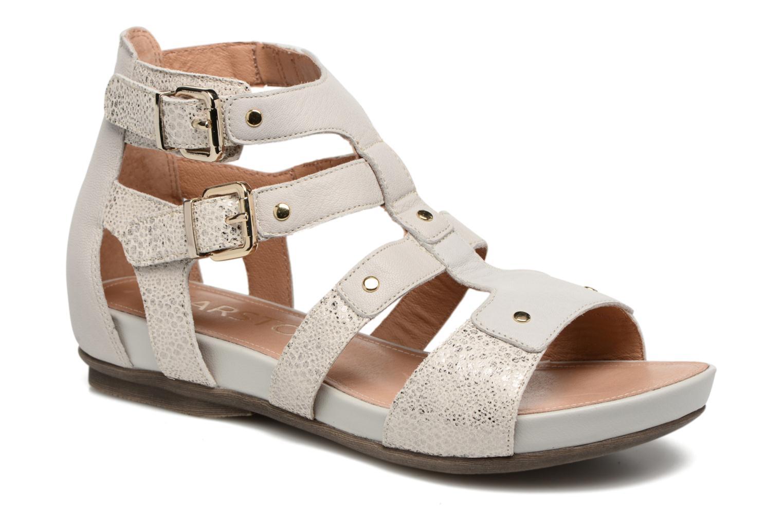 Sandales et nu-pieds Karston Konic Blanc vue détail/paire