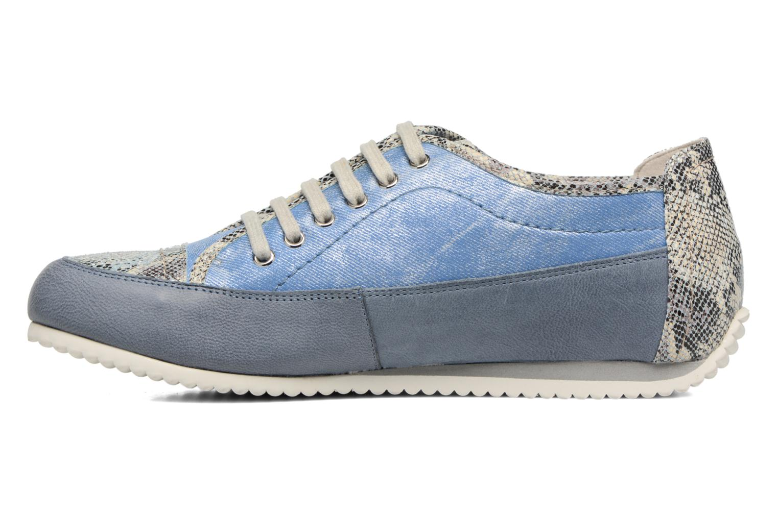 Trainers Karston Caloza Blue front view