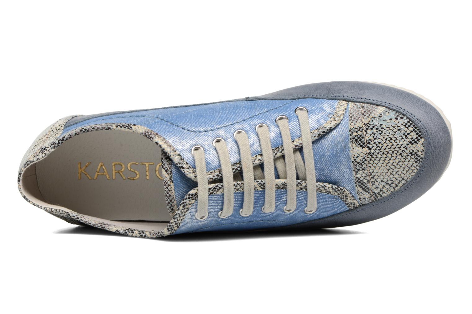Trainers Karston Caloza Blue view from the left