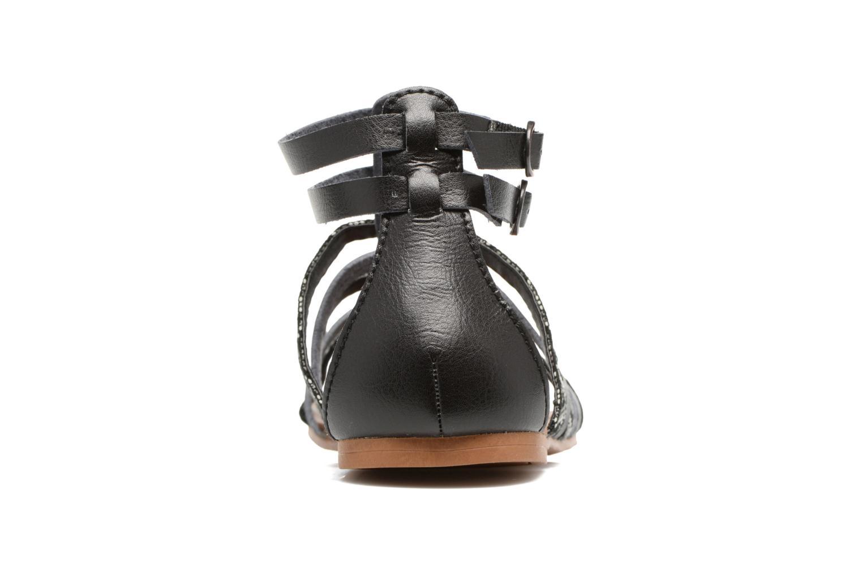 Sandales et nu-pieds Roxy Emilia Noir vue droite