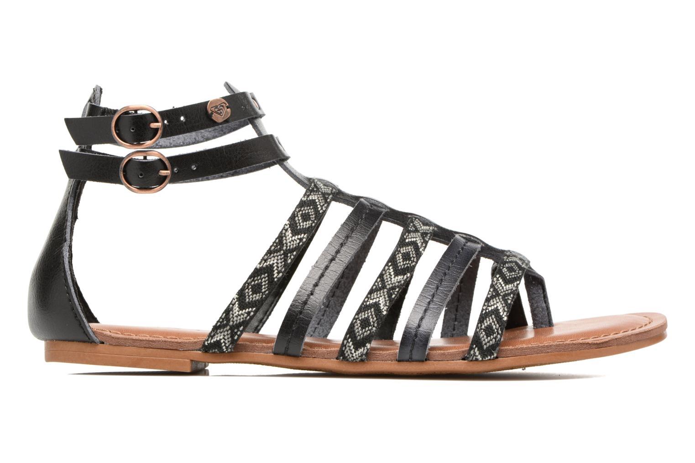 Sandales et nu-pieds Roxy Emilia Noir vue derrière