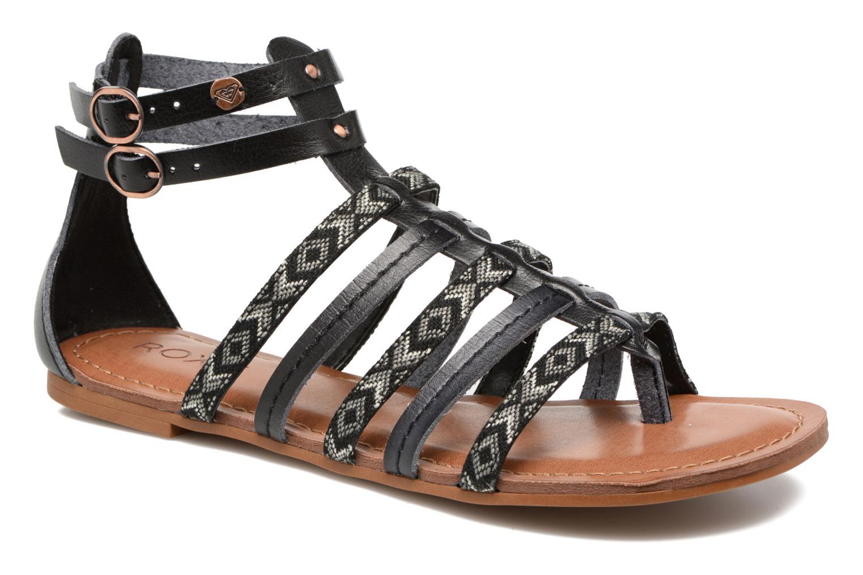 Sandales et nu-pieds Roxy Emilia Noir vue détail/paire