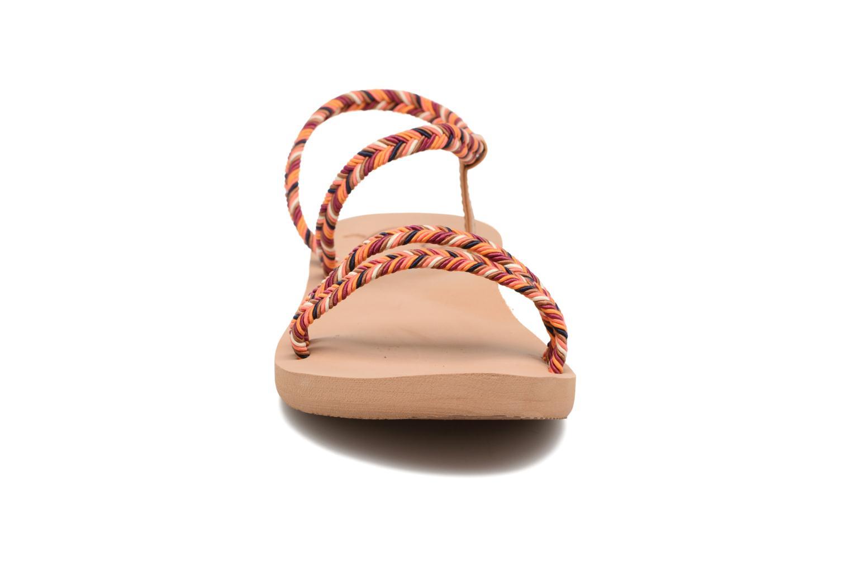 Sandales et nu-pieds Roxy Luana Multicolore vue portées chaussures