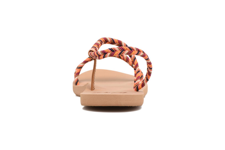 Sandales et nu-pieds Roxy Luana Multicolore vue droite