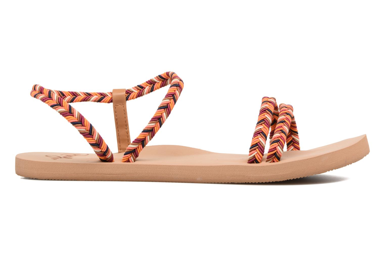 Sandales et nu-pieds Roxy Luana Multicolore vue derrière